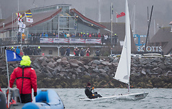 The annual RYA Youth National Championships is the UK's premier youth racing event. Day 3 with winds backing to the North the racing started on the Largs Channel.<br /> <br /> 207113, George Pulman, Dovestones SC, Laser Standard <br /> <br /> Images: Marc Turner / RYA<br /> <br /> For further information contact:<br /> <br /> Richard Aspland, <br /> RYA Racing Communications Officer (on site)<br /> E: richard.aspland@rya.org.uk<br /> m: 07469 854599