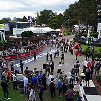 13.03.2020, Albert-Park, Melbourne, FORMULA 1 ROLEX AUSTRALIAN GRAND PRIX 2020<br /> , im Bild<br />Das Rennen in Melbourne ist abgesagt worden, Grund die Ausbreitung des Coronavirus (COVID-19)<br />Pressekonferenz zur Absage des Rennens mit Andrew Westacott (CEO des Grand Prix von Australien),  Chase Carey (Vorsitzender der Formel 1 Liberty Media),Paul Little (Vorsitzender des Grand Prix von Australien), Michael Masi (FIA Renndirektor)<br /> <br /> Foto © nordphoto / Bratic