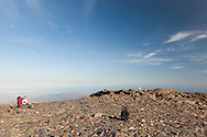 High up on Los Tres Miles SW-NE traverse of the Sierra Nevada range , Andalucia, Spain