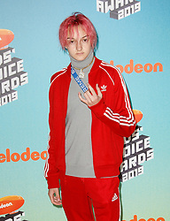 March 23, 2019 - Los Angeles, CA, USA - LOS ANGELES, CA - MARCH 23: Russell Horning, Backpack Kid attends Nickelodeon's 2019 Kids' Choice Awards at Galen Center on March 23, 2019 in Los Angeles, California. Photo: CraSH for imageSPACE (Credit Image: © Imagespace via ZUMA Wire)
