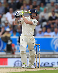 England's Ben Stokes during the second Investec Test match at Headingley, Leeds. PRESS ASSOCIATION Photo. Picture date: Friday August 25, 2017. See PA story CRICKET England. Photo credit should read: Nigel French/PA Wire. RESTRICTIONS: Editorial use only. No commercial use without prior written consent of the ECB. Still image use only. No moving images to emulate broadcast. No removing or obscuring of sponsor logos.