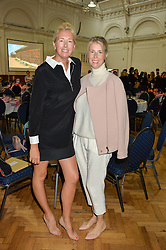 Left to right, TIGGY KENNEDY and RACHEL REAVLEY at a lunch in aid of the charity African Solutions to African Problems (ASAP) held at the Royal Horticultural Hall, Vincent Square, London on 19th May 2016.