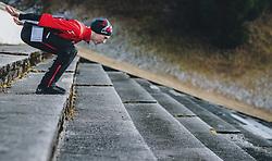 31.12.2019, Olympiaschanze, Garmisch Partenkirchen, GER, FIS Weltcup Skisprung, Vierschanzentournee, Garmisch Partenkirchen, Qualifikation, im Bild Jan Hoerl (AUT) // Jan Hoerl of Austria during the Four Hills Tournament of FIS Ski Jumping World Cup at the Olympiaschanze in Garmisch Partenkirchen, Germany on 2019/12/31. EXPA Pictures © 2019, PhotoCredit: EXPA/ JFK