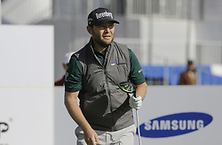 October 19, 2017 - Seogwipo, Jeju Island, South Korea - Branden Grace of Republic of South Africa action on the 10th tee during an PGA TOUR The CJ CUP NINE BRIDGE at Nine Bridge CC in Jeju, South Korea. (Credit Image: © Ryu Seung Il via ZUMA Wire)