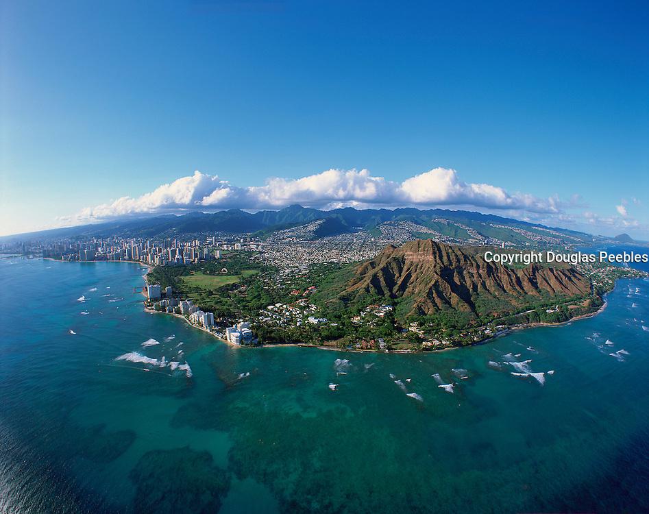 Diamond Head, Honolulu, Oahu, Hawaii, USA