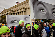 Alex Togba walks in the March for Life 2017 on Friday, Jan. 27, 2017, in Washington, D.C. LCMS Communications/Erik M. Lunsford