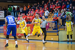 Span Jan and Blazevic Anel of KK Sencur GGD during basketball match between KK Sencur  GGD and KK Tajfun Sentjur for Spar cup 2016, on 16th of February , 2016 in Sencur, Sencur Sports hall, Slovenia. Photo by Grega Valancic / Sportida.com