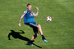 July 4, 2018 - Gelendzhik, Russia - 180704 Pontus Jansson of the Swedish national football team at a practice session during the FIFA World Cup on July 4, 2018 in Gelendzhik..Photo: Petter Arvidson / BILDBYRN / kod PA / 92081 (Credit Image: © Petter Arvidson/Bildbyran via ZUMA Press)