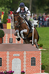 Zara Philips, (GBR), High Kingdom - Eventing Cross - Alltech FEI World Equestrian Games™ 2014 - Normandy, France.<br /> © Hippo Foto Team - Dirk Caremans