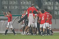 Photo: Steve Bond/Richard Lane Photography.<br />Egypt v Cameroun. Africa Cup of Nations. 22/01/2008. Hosny Abd Rabou celebrates Egypts 4th goal