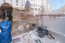 ein leeres Geschaeft in Folge des Coronavirus-Ausbruchs in Oesterreich, aufgenommen am 15.03.2020, Wien, Oesterreich // an empty store as a result of the coronavirus outbreak in Austria, Vienna, Austria on 2020/03/15. EXPA Pictures © 2020, PhotoCredit: EXPA/ Florian Schroetter