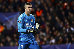 December 12, 2018 - Valencia, Spain - Jaume Domenech of Valencia CF  during UEFA Champions League Group H between Valencia CF and Manchester United at Mestalla stadium  on December 12, 2018. (Photo by Jose Miguel Fernandez/NurPhoto) (Credit Image: © Jose Miguel Fernandez/NurPhoto via ZUMA Press)