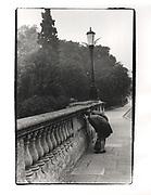 Magdalen Bridge, Oxford. 1978