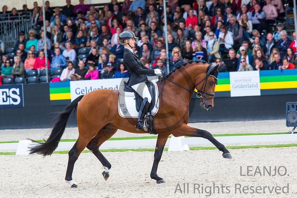 Eva Moller - Valverde<br /> FEI World Championships Young Dressage Horses 2019<br /> © DigiShots