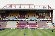 General view of Valley Parade during the EFL Sky Bet League 2 match between Bradford City and Scunthorpe United at the Utilita Energy Stadium, Bradford, England on 1 May 2021.