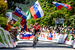 Matej MOHORIC of BAHRAIN VICTORIOUS during the 4th Stage of 27th Tour of Slovenia 2021 cycling race between Ajdovscina and Nova Gorica (164,1 km), on June 12, 2021 in Slovenia. Photo by Matic Klansek Velej / Sportida