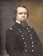 John Pope (March 16, 1822 – September 23, 1892) was a career United States Army officer and Union general in the American Civil War. He had a brief stint in the Western Theater, but he is best known for his defeat at the Second Battle of Bull Run (Second Manassas) in the East. from the book ' The Civil war through the camera ' hundreds of vivid photographs actually taken in Civil war times, sixteen reproductions in color of famous war paintings. The new text history by Henry W. Elson. A. complete illustrated history of the Civil war