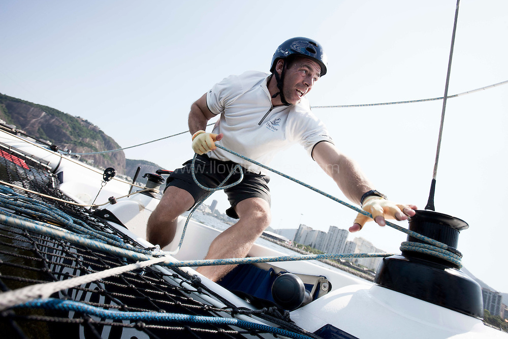 6th December, 2012. Rio de Janeiro, Brazil..Extreme Sailing Series 2012, Act 8...Credit: Lloyd Images.