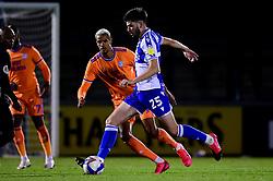 Cian Harries of Bristol Rovers - Mandatory by-line: Ryan Hiscott/JMP - 28/08/2020 - FOOTBALL - Memorial Stadium - Bristol, England - Bristol Rovers v Cardiff City - Pre Season Friendly