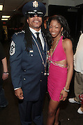 17 May 2011- New York, NY - l to r: Melle Mel and Aysha backstage at the Kool Herc Tribute  and Melle Mel Birthday Celebration Produced by Jill Newman Productions and held at BB Kings on May 17, 2011 in New York City. Photo Credit: Terrence Jennings