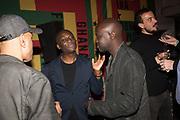EKOW ESHUN, SIR DAVID ADJAYE Ghana party, Venice, 8 May 2019