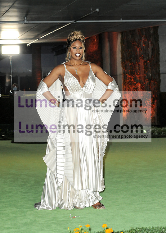 Laverne Cox at the Academy Museum of Motion Pictures Opening Gala held in Los Angeles, USA on September 25, 2021.