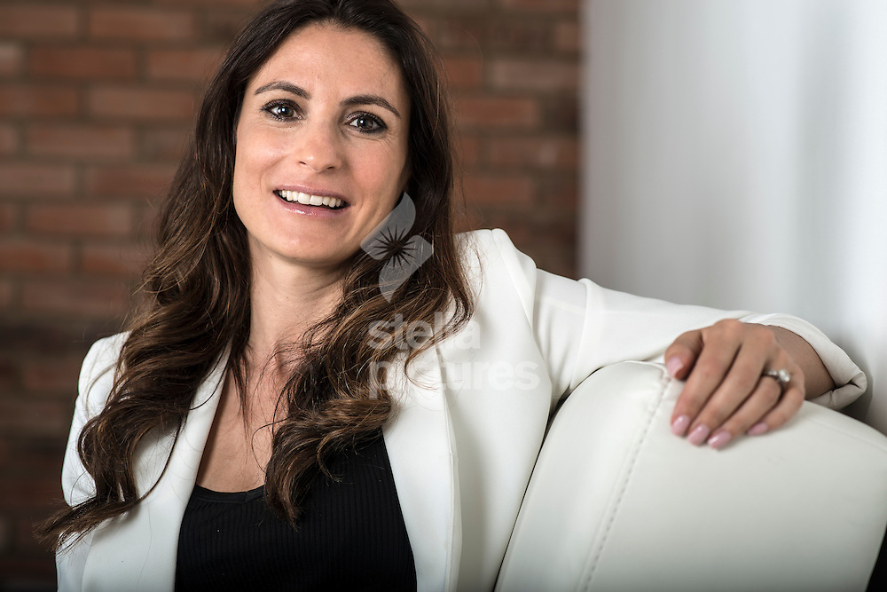 Managing director of 'Séraphine'  Cecile Reinaud pictured at her north London studio. <br /> Picture by Daniel Hambury/Stella Pictures Ltd +44 7813 022858<br /> 17/07/2014
