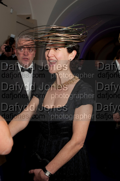 MELANIE CLORE, The Surrealist Ball in aid of the NSPCC. Hosted by Lucy Yeomans and Harry Blain. Banqueting House. Whitehall. 17 March 2011. -DO NOT ARCHIVE-© Copyright Photograph by Dafydd Jones. 248 Clapham Rd. London SW9 0PZ. Tel 0207 820 0771. www.dafjones.com.
