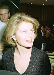 VISCOUNTESS LINLEY at a fashion show in London on April 30th 1997.LYA 54