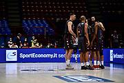 Squadra A X Armani Exchange Milano <br /> A X Armani Exchange Olimpia Milano - Happy Casa Brindisi<br /> Basket Serie A LBA 2020/2021<br /> Milano 13 December 2020<br /> Foto Mattia Ozbot / Ciamillo-Castoria