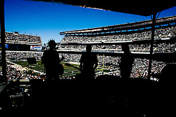 """6 Sept 2008: The band """"A Balance"""" plays from the new """"Phlite Deck"""" at Lincoln Financial field during the halftime of the game against the St Louis Rams on August 28, 2008. The Eagles beat the Rams 38-3 at Lincoln Financial Field in Phialdelphia, Pennsylvania. (Photo by Brian Garfinkel)"""