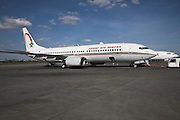 Royal Air Maroc plane Marrakech airport, Morocco, north Africa