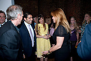 MARK SHAND;  CYRUS VANDREVALA; PRIA VANDREVELA; SARAH DUCHESS OF YORK,  The launch party for Elephant Parade hosted at the house of  Jan Mol. Covent Garden. London. 23 June 2009.