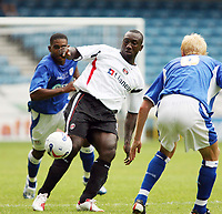 Photo: Chris Ratcliffe.<br />Millwall v Charlton Athletic. Pre Season Friendly. 22/07/2006.<br />Jimmy Floyd Hasselbaink of Charlton.