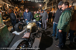 1980 BMW R100 rigid frame twin turbo built by Rebecca and Chris Canterbury of Boxer Metal at the