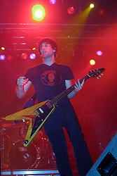 Ash play the NME tent at T in the Park 8th July 2001...