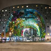 NLD/Rottrdam/20161107 - Rotterdamse De Markthal exteriuer