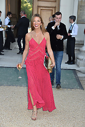 Heather Kerzner at the Concours d'éléphant in aid of Elephant Family held at the Royal Hospital Chelsea, London, England. 28 June 2018.