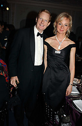 The EARL & COUNTESS OF DERBY at the Cartier Racing Awards 2006 held at the Four Seasons Hotel, Hamilton Place, London on 15th November 2006.<br />