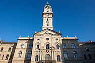 The Town Hall - Gyor ( Gy?r ) Hungary .<br /> <br /> Visit our HUNGARY HISTORIC PLACES PHOTO COLLECTIONS for more photos to download or buy as wall art prints https://funkystock.photoshelter.com/gallery-collection/Pictures-Images-of-Hungary-Photos-of-Hungarian-Historic-Landmark-Sites/C0000Te8AnPgxjRg