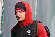Sam Warburton of Wales  during the Wales Rugby team training at the Vale Resort, Hensol near Cardiff, South Wales on Thursday 2nd Feb 2017.  The team are preparing for the the RBS Six nations match against Italy.  pic by  Andrew Orchard, Andrew Orchard sports photography.