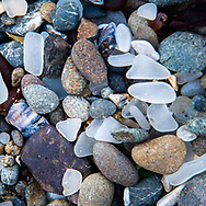 Details of Glass Beach at Fort Bragg, Mendocino, California<br /> <br /> Travel notes and details of this location on the blog: https://goo.gl/uAjc2W