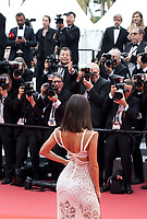 Chantel Jeffries at the Yomeddine gala screening at the 71st Cannes Film Festival, Wednesday 9th May 2018, Cannes, France. Photo credit: Doreen Kennedy