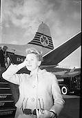 23/05/1966 Deborah Kerr at Dublin Airport