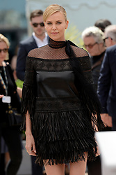 Charlize Theron attends 'Mad Max : Fury Road' photocall at the 68th Cannes Film Festival on May 14th, 2015 in Cannes, France. Photo by Lionel Hahn/ABACAPRESS.COM
