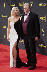September 14, 2019, Los Angeles, California, United States of America: Mandy Hansen and Sig Hansen at the red carpet of the 2019 Creative Arts Emmy Awards on Saturday September 14, 2019 at the Microsoft Theater in Los Angeles, California. JAVIER ROJAS/PI (Credit Image: © Prensa Internacional via ZUMA Wire)