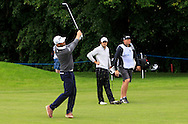 Birgir Hafthorsson (ISL) on the 15th fairway during Round 2 of the Northern Ireland Open in Association with Sphere Global & Ulster Bank at Galgorm Castle Golf Club on Friday 7th August 2015.<br /> Picture:  Thos Caffrey / www.golffile.ie