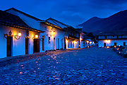 Colombia, Villa de Leyva, Plaza Mayor, Dawn, Andes mountain Town, Spanish Colonial, Town Declared A National Monument In 1954, South America