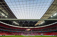 general shot of the stadium at the FIFA World Cup Qualifier match between England and Slovenia at Wembley Stadium, London, England on 5 October 2017. Photo by Sebastian Frej.