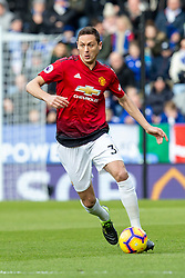 February 3, 2019 - Leicester, England, United Kingdom - Nemanja Matic of Manchester United during the Premier League match between Leicester City and Manchester United at the King Power Stadium, Leicester on Sunday 3rd February 2019. (Credit Image: © Mi News/NurPhoto via ZUMA Press)